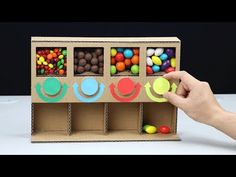 How to Make MULTI Candy Dispenser at Home DIY - YouTube