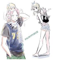 Cute Fairy Tail Family