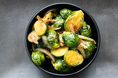 Hoisin Glazed Brussels Sprouts on Simply Recipes