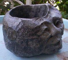 Garden Rock Face   Rocks With Faces   Garden Decor   Gardens And Products