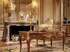 Людовик XV интерьер Музей Метрополитен, французское рококо