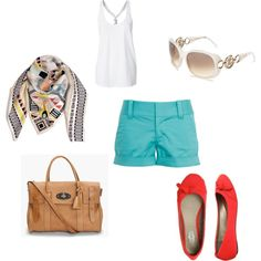 My first Polyvore creation...LUSTING after that bag...