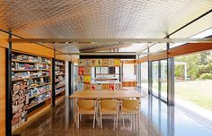 Modern Renovation of an Australian Farm House Australian Farm, Studio Build, Interior And Exterior, Interior Design, Country Lifestyle, House Windows, Built Environment, Cafe Restaurant, Great Rooms