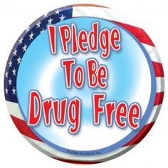 Free 'I Pledge to be Drug Free' Sticker Drug Free Week, Red Ribbon Week, Just For Today, Free Stickers, Drugs, Cravings, Activities For Kids, Free Stuff, Free Samples