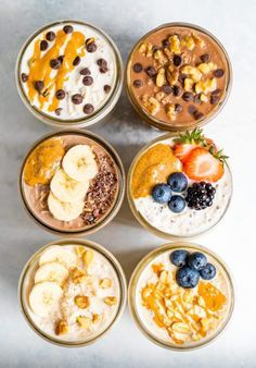Easy Overnight Oats, Evening Meals, Food Items, Smoothie Recipes, Breakfast Recipes, Dinner Recipes, Breakfast Options, Diet Breakfast, The Best