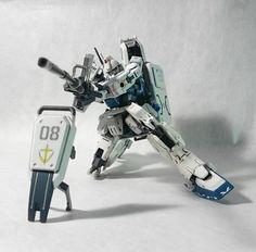 GUNDAM GUY: 1/144 Gundam Ez-8 [RG Frame Custom] - Custom Build