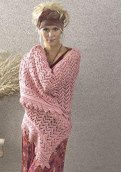 Free Pattern: Sanibel Wrap by Melissa Matthay