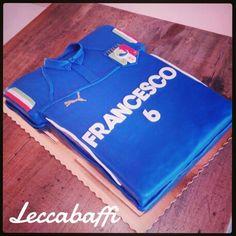 Italy soccer team cake