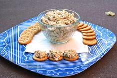 chicken salad with ritz crackers