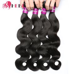 Human Hair Weaves Indian Straight Hair 3 Bundle Deals 100% Human Hair Extensions 8-28inch Non Remy Hair Weave Bundles Lucky Queen Hair Products