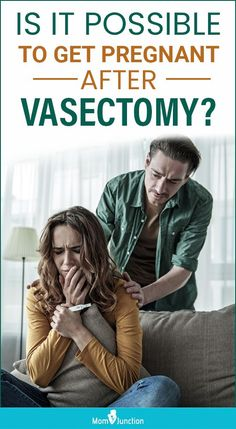 Vasectomy is a permanent birth control solution for men, wherein the vas deferens (sperm duct) is cut and sealed at its ends to prevent the sperm from reaching the egg. Though the failure rate of this method is very low, there is a chance of a woman getting pregnant even after the man has had a vasectomy.