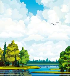 forest-and-jungle-landscapes-vector7.jpg (550×600)