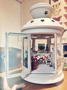 Holiday Decor Week: Ashlie from Brining Babies Christmas Lanterns, Christmas Gift Decorations, Christmas Nativity, Christmas Centerpieces, Christmas Baby, Rustic Christmas, Vintage Christmas, Christmas Holidays, Holiday Decor
