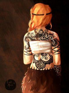 Astrid's tattoo