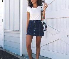 Looking Good_Τέσσερις τρόποι για να φορέσεις τη τζιν φούστα σου! (http://gynaikaeveryday.gr/?page=calendar&day=2018-05-11)