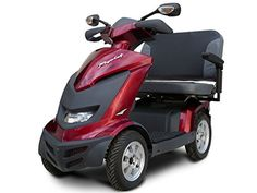 Elegant Royale 4-Burgundy-Dual Seat, 9.3 Mph (15Kmh) -- Awesome products selected by Anna Churchill
