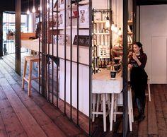 Interior design for Bear Market Coffee