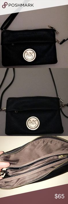 I am selling a cross-body Michael Kors purse. This is a very nice purse! I have never worn it, I actually got it to me as a gift. I don't like cross-bodies, so I have decided to sell it. Michael Kors Bags Crossbody Bags