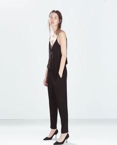 FULL LENGTH COMBINED JUMPSUIT-Jumpsuits-WOMAN | ZARA United States