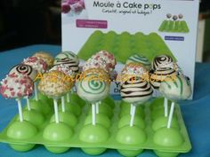 Cake pop (moule silicone)