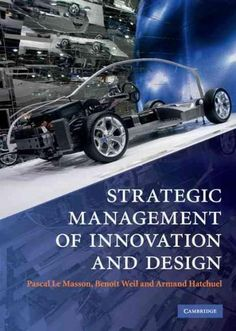 Strategic Management of Innovation and Design