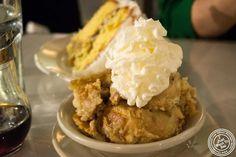 image of banana pudding at Sylvia's in Harlem, NYC, New York