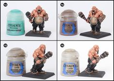 Tale of Painters: Tutorial: How to Paint Ogre Kingdom's Ogre Bulls