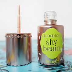 NEW Benefit shy beam is the perfect matte highlighter for Summer! xx