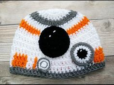 Crochet Hat inspired by Star Wars / The Force Awakens ( Video 1) - YouTube