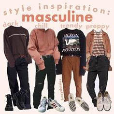 comment your fave! mine is 2 these are all pretty similar so i might make a second part Retro Outfits, Trendy Outfits, Boy Outfits, Vintage Outfits, Vintage Fashion, Soft Grunge Outfits, Grunge Clothes, Tokyo Street Fashion, 90s Fashion