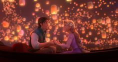"""At last I see the light"" -- Tangled"