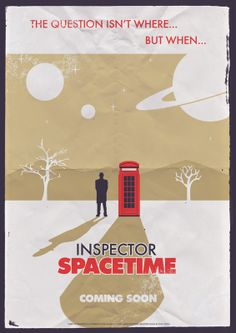 INSPECTOR SPACETIME! (Community & Doctor Who :D )