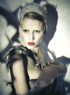 Paolo Roversi for Italian Vogue. Please support independent British film and like/share the facebook page of Babushka at www.facebook.com/BabushkaTheFilm - thank you :-)