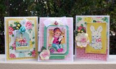 Crate Paper Little Bo Peep cards