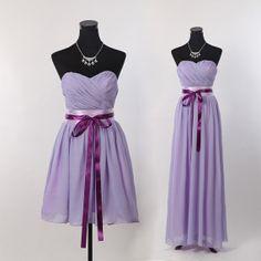 Short Bridesmaid Dress,long Bridesmaid Dress,Simple Chiffon Bridesmaid Dresses,Beach Bridesmaid Dress,Simple Purple Bridesmaid Dress 2013 on Etsy, $83.93 AUD