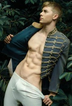 Goodness! My word! Prince Sexy - the lesser known porn star cousin of Disney's Prince Charming ROFL
