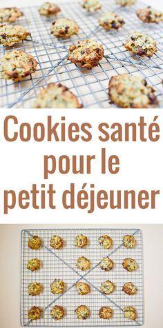 Une recette super facile de biscuits pour le petit déjeuner à base de flocons d'avoine pour démarrer la journée sainement. Idéal pour les enfants !