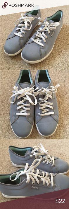 Gray Reebok Sneakers women's gray reebok tennis shoes. light wear but not worn for long. US size 6. lightweight and comfortable. Reebok Shoes Sneakers