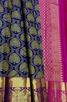 Latest Silk Sarees, Silk Sarees Online, Pure Silk Sarees, Bridal Sarees South Indian, Silk Saree Blouse Designs, Kanchipuram Saree, Elegant Saree, Cotton Silk, Temple