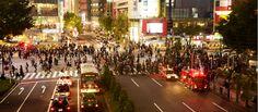 Sibuya / 渋谷スクランブル交差点  http://www.siragazome.jp/somegatari/20/index.html