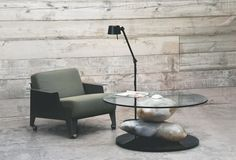 luxus wohnen | wohnideen | wohnidee | Deko Ideen | www.brabbu.com Couchtisch mit Alabaster Steinen für ein minimalistisches Wohnzimmer