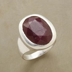 RUBY REVEL RING: View 1