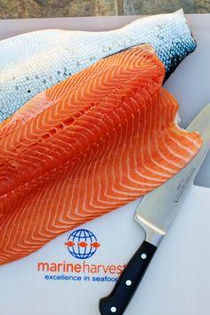 Homemade gravlax recipe with Marine Harvest salmon from Norway