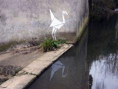 street art nature banksy