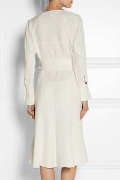 Maiyet | Belted silk-crepe dress | NET-A-PORTER.COM
