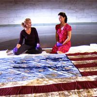 The story of Old Glory, one of America's most famous flags.