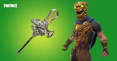 Fortnite Battle Hound and Pickaxe