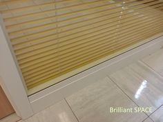 Glass System Wall 中文大學 (不上頂裝置,雙層清玻璃屏風-內置百葉 Double Clear Glass Panel with blind) 7
