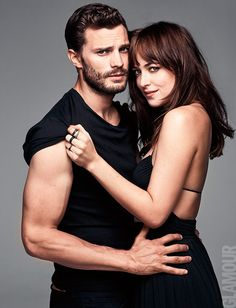 Jamie Dornan Joins Fifty Shades of Grey Co star Dakota Johnson for Glamour March 2015 Cover Shoot Fifty Shades Of Darker, Shades Of Grey Film, Mr Grey, Christian Grey, Jamie Dornan, Fifty Shades Series, Fifty Shades Movie, Dakota Johnson, Dakota Y Jamie