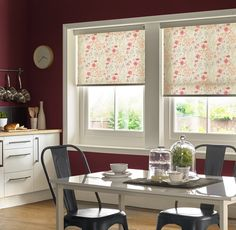 Meadow Floral Redcurrant Roller Blinds From Style Studio. Floral Blind,  Spring Blind